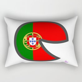 Portugal Smile Rectangular Pillow