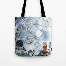 Exploration: Setting Sail Tote Bag