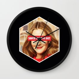 Santa Clarita diet Wall Clock