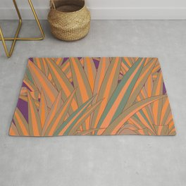 Colorful Agaves Rug