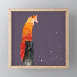 Wonderment | Fox and the Night Framed Mini Art Print
