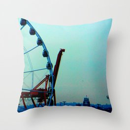 Cargosel Throw Pillow