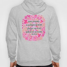 Always Remember – Pink Ombré Palette Hoody