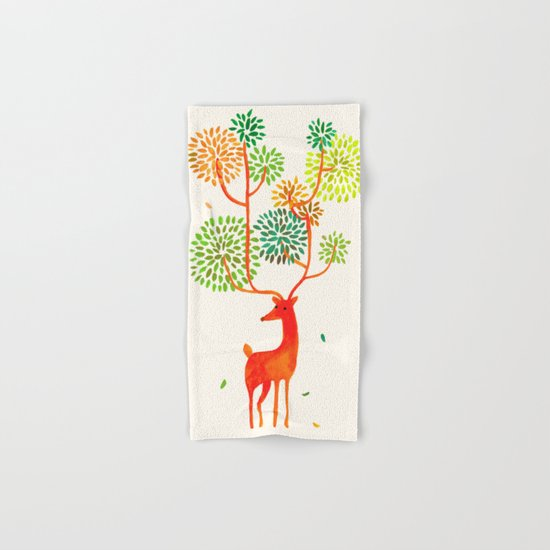 For the tree is the forest Hand & Bath Towel