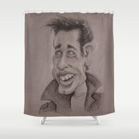 danny haas Shower Curtains featuring Danny by chadizms