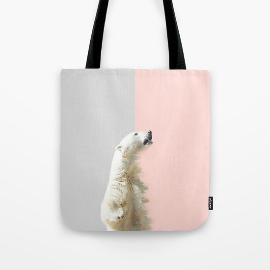 Polar Bear #society6 #decor #buyart Tote Bag