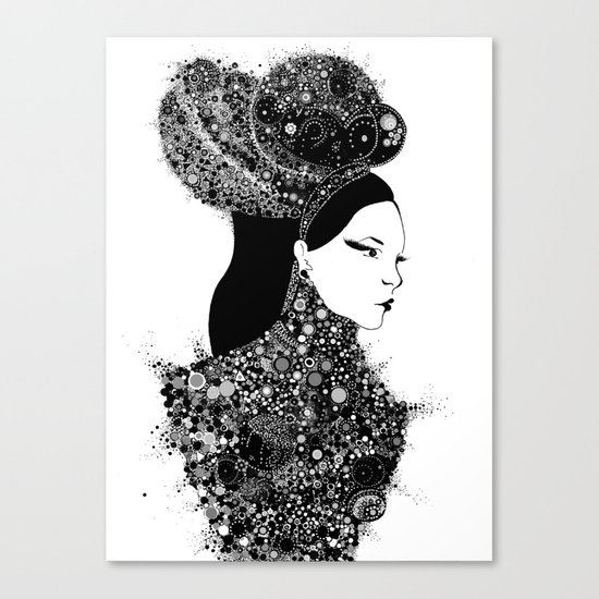 She`s a lady Canvas Print