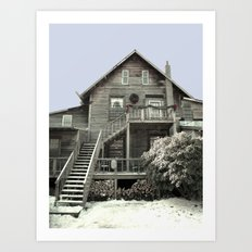 An Old Fashioned Christmas Art Print