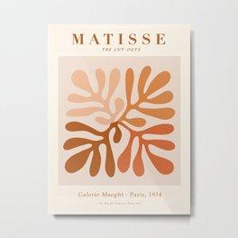 Exhibition poster Henri Matisse-Galerie Maeght-Paris 1934. Metal Print