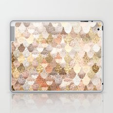 MERMAID GOLD Laptop & iPad Skin