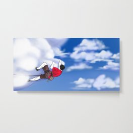 Climb the Clouds Metal Print