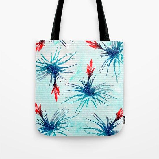 Tillandsia Flower Tote Bag
