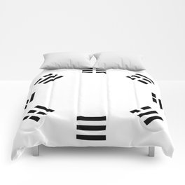 I Ching Clock Comforters