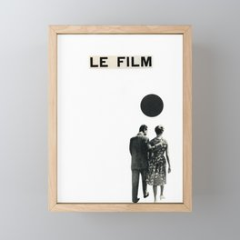 Le Film Framed Mini Art Print