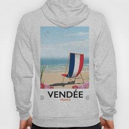 Vendée France vintage travelp oster Hoody