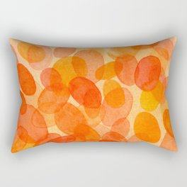 Orange dots  Rectangular Pillow