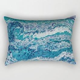 Bermuda Blues Rectangular Pillow
