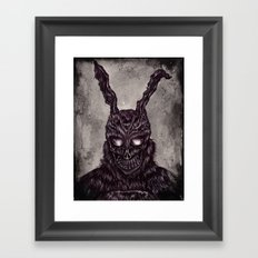 Donnie Darko - ballpoint pen and watercolor Framed Art Print