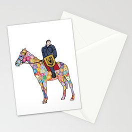 Sir Flower the Golden Knight Stationery Cards