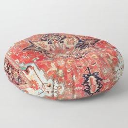 Heriz Azerbaijan Northwest Persian Rug Print Floor Pillow