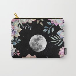 succulent full moon 4 Carry-All Pouch