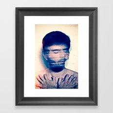 Explicit - Denial Framed Art Print