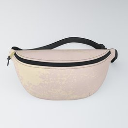 Gold Blush Fanny Pack