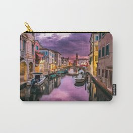 Venice Italy Canal at Sunset Photograph Carry-All Pouch