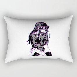 Anime Schoolgirl Rectangular Pillow