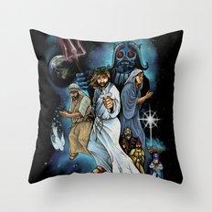 Jesus Christ Super StarWars Throw Pillow
