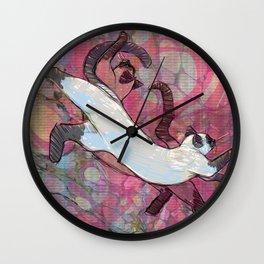 Illustration ; Siamese Dream Wall Clock
