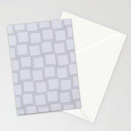 Lavender Squares Stationery Cards