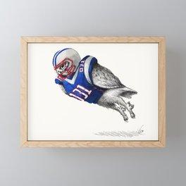 Player No.031 Framed Mini Art Print