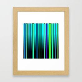 Fresh Blue Framed Art Print