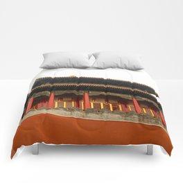 Forbidden City Building Comforters