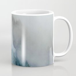 The Foggy Forest (Color) Coffee Mug