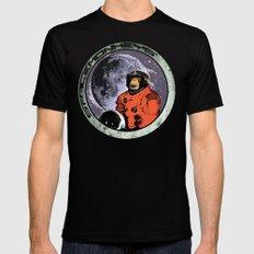 Space Monkeys MEDIUM Mens Fitted Tee Black