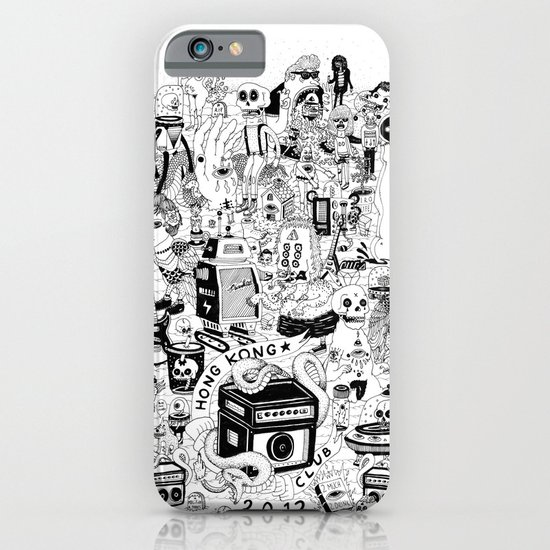 HONG KONG CLUB iPhone & iPod Case