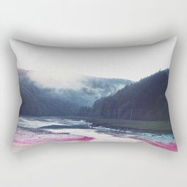 Low Tide in the Valley Rectangular Pillow