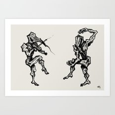 Music and Theatre Art Print