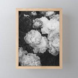 peony Framed Mini Art Print