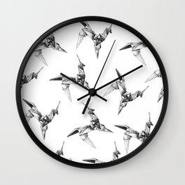 Paper Unicorn Wall Clock