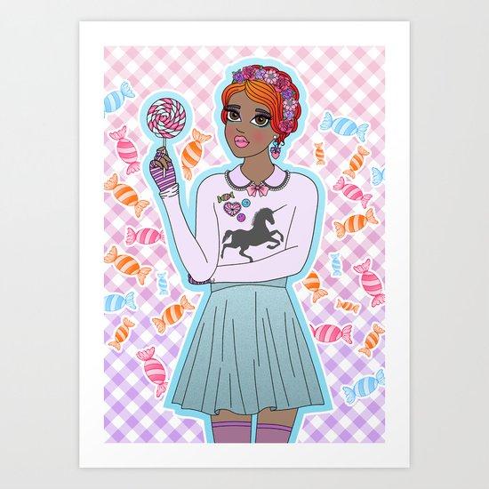 Sweeter Than Candy Art Print