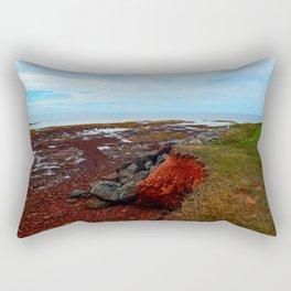 PEI Shoreline in Point Prim Rectangular Pillow