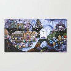 The Gathering Canvas Print