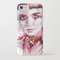 grimes iPhone & iPod Cases featuring grimes by beart24