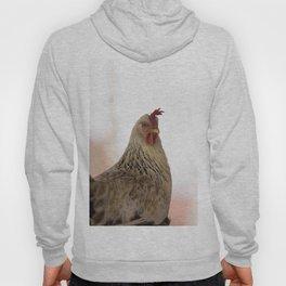 A chicken in the portrait Hoody