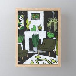 The Green Room Framed Mini Art Print