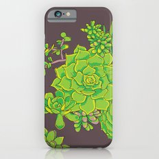 Succulent Pattern iPhone 6s Slim Case