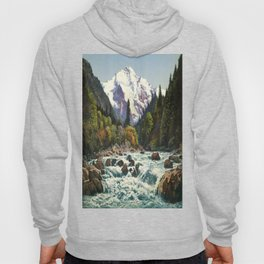 Mountains Forest Rocky River Hoody